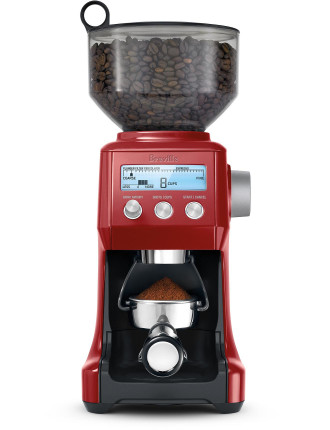 BES920CB The Dual Boiler With Smart Grinder In Cranberry