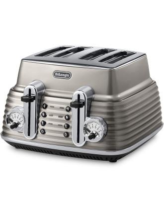 CTZ4003BG Scultura 4 Slice Toaster Beige