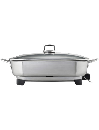 FP8950 Master Series Ellise Stainless Steel Frypan