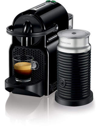 EN80BAE Nespresso Inissia Coffee Machine Bundle Black