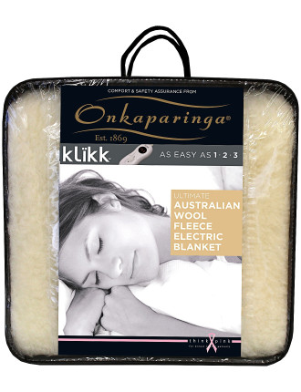 Ultimate Wool Fleece King Bed Electric Blanket