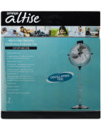 40cm Chrome High Velocity Pedestal Fan $129.95