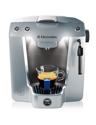 A Modo Mio Premium Silver Coffee Machine
