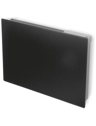 2kw Girona Glass Panel Heater Black