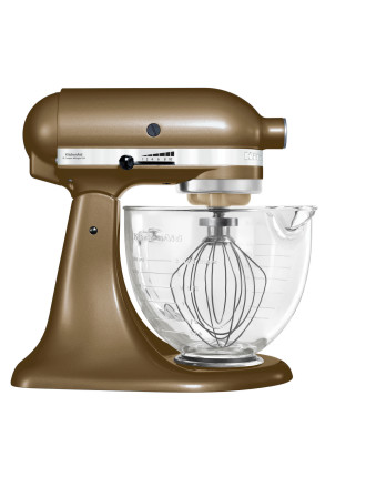Ksm156 Toffee Platinum Collection Stand Mixer
