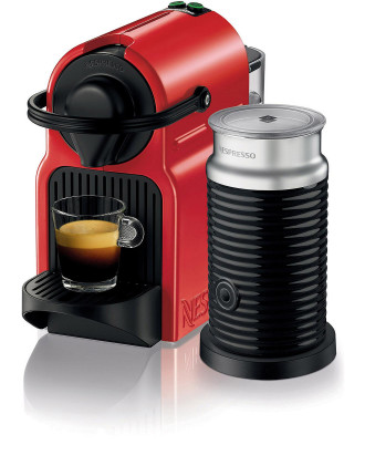 Nespresso Inissia Bundle Red
