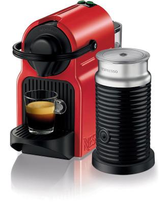 Nespresso BEC200XR Inissia Coffee Machine Bundle Red