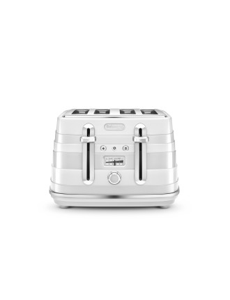 CTA4003A Avvolta 4 Slice Toaster White
