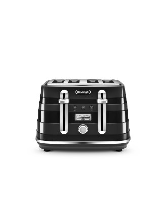 CTA4003BK Avvolta 4 Slice Toaster Black