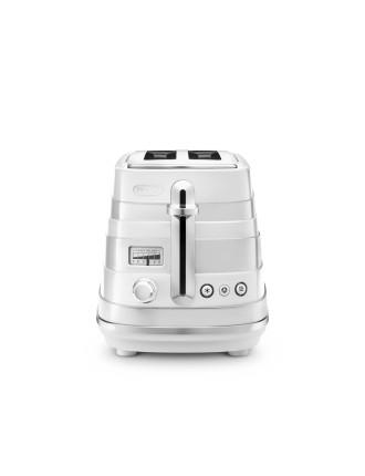 CTA2003W Avvolta 2 Slice Toaster White