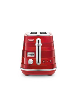 CTA2003R Avvolta 2 Slice Toaster Red