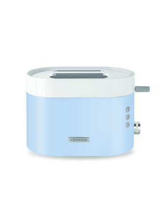 TCM400BL Ksense 2 Slice Toaster - Unique White & Blue Finish