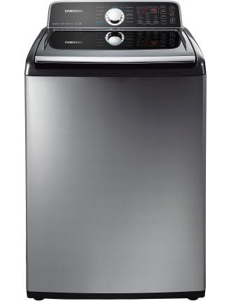Samsung WA456DRHDSU 10kg 800rpm Top Load Washer Plat Inox