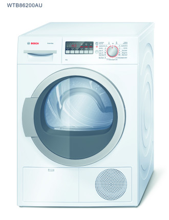 WTB86200AU 8kg Condensor Dryer