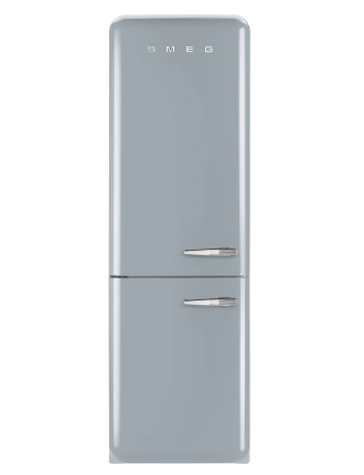 FAB32LSVNA1 326L  Fridge Freezer, Silver - LH Door