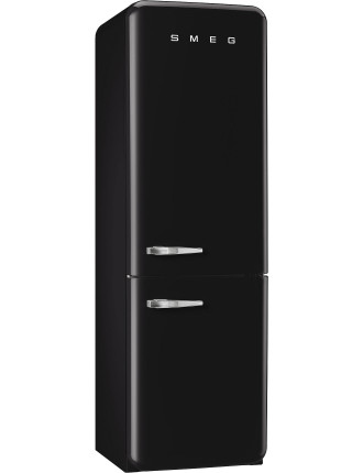 FAB32RBLNA1 326L Fridge Freezer, Black - RH Door