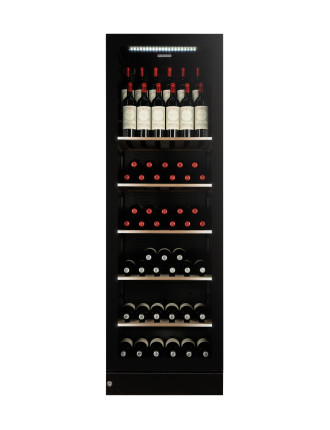 V190SG2EBK 170 Bottle Multi Zone Wine Cabinet