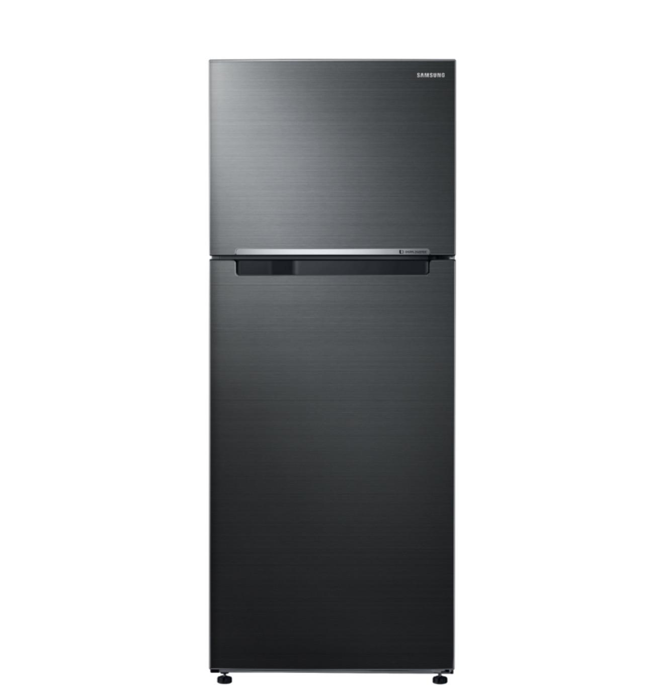 sr467btc 471l top mount fridge metallic black