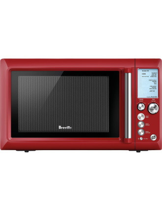 Breville BMO735CRN Quick Touch Cranberry Microwave