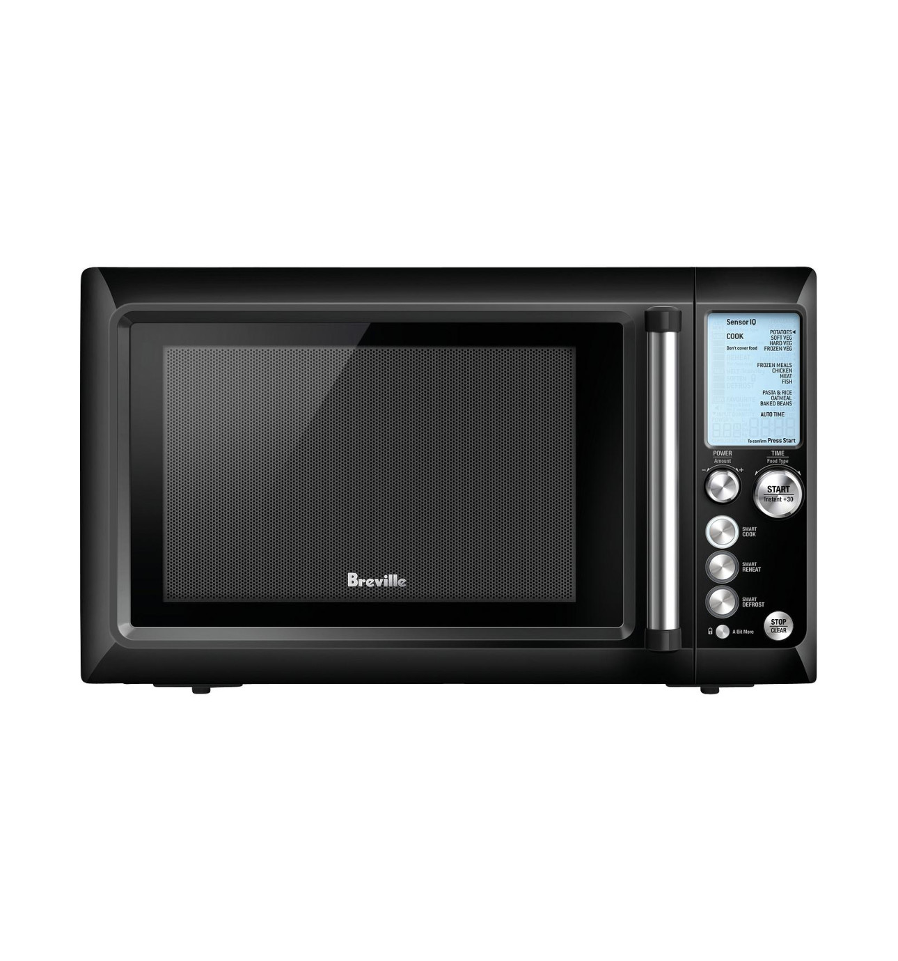 Breville Bmo735bks Quick Touch Black Microwave 299 00