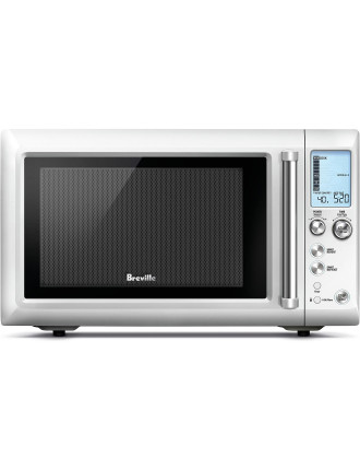 Breville BMO625 Quick Touch Compact Silver Microwave