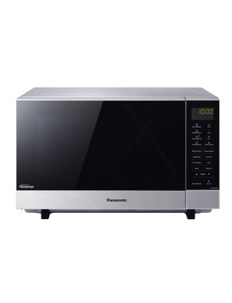 NNSF574SQPQ 27L Flatbed Microwave Stainless Steel