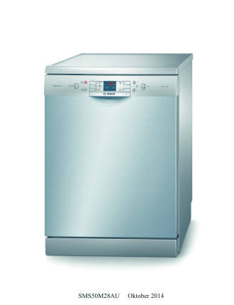 SMS50M28AU 14 Place Setting Freestanding Dishwasher