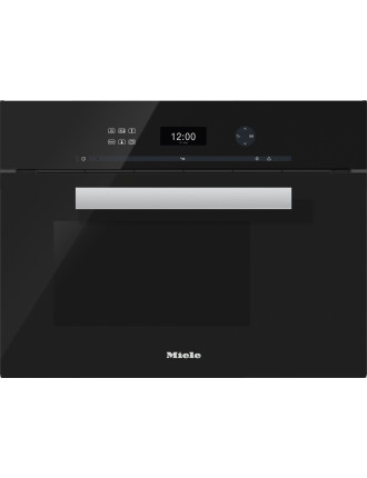 DG 6401 Obsidian black steam oven