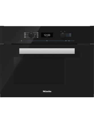 DGC 6400 Obsidian black steam combination oven