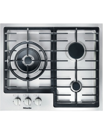 KM 2312 G stainless steel gas cooktop