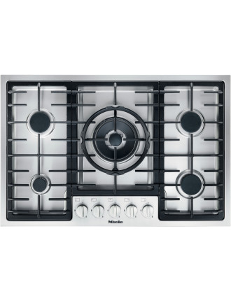 KM 2334 G stainless steel gas cooktop