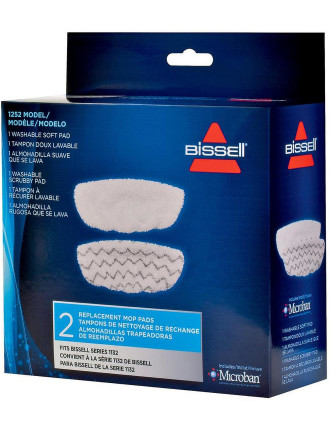 1252 - Vac /. Steam Mop Pads