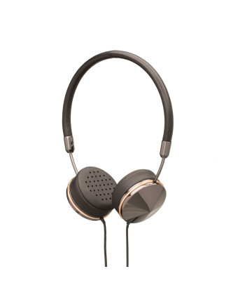 Frends Layla Gunmetal Rose On Ear Headphones