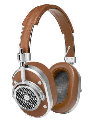 Master & Dynamic MH40 Over-Ear Headphone - Brown/Silver