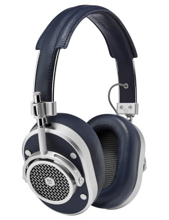 Master & Dynamic MH40 Over-Ear Headphone - Navy/Silver