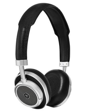MW50 WIRELESS ON-EAR HEADPHONE BLACK/SILVER
