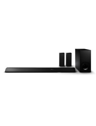 5.1CH WIRELESS SOUND BAR W REAR SPEAKERS