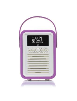 VQ Retro Mini DAB+ Digital Radio Rodiant Orchid