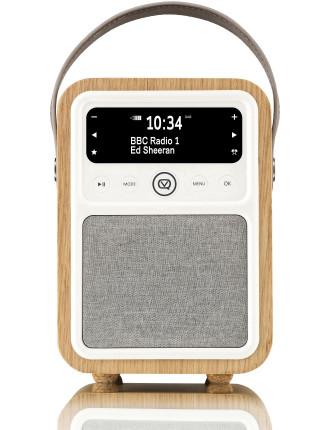 VQ Monty DAB+ Digital Radio Real Oak