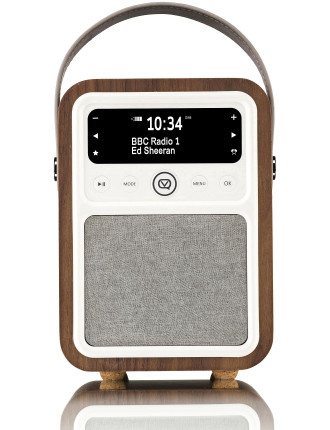 VQ Monty DAB+ Digital Radio Real Walnut