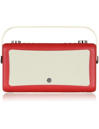 VQ Hepburn MKII DAB+ Digital Radio Red