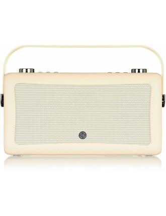 VQ Hepburn MKII DAB+ Digital Radio Cream
