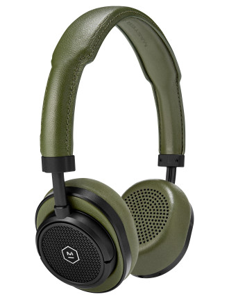 MW50 WIRELESS ON EAR HEADPHONE BLACK/OLIVE