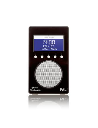 PAL + BLUETOOTH PORTABLE FM/DAB+ RADIO BLACK