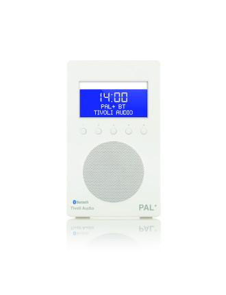 PAL + BLUETOOTH PORTABLE FM/DAB+ RADIO WHITE