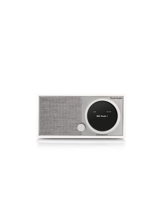 ART SERIES MODEL ONE DIGITAL DAB+ FM RADIO WHITE