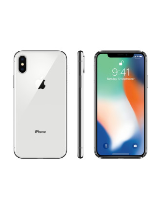 IPHONE X 64GB SILVER MQA62X/A