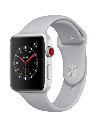 WATCH SERIES 3 42MM SILVER AL CASE FOG SPORT BAND