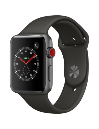 WATCH SERIES 3 42MM SPACE GREY AL CASE GREY SPORT BAND
