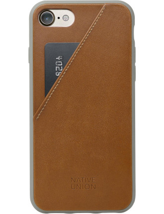 CLIC CARD LEATHER CASE FOR IPHONE 8/7